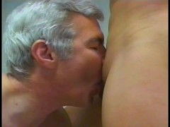 Shemale fucks her older neighbour - Gentlemens Video