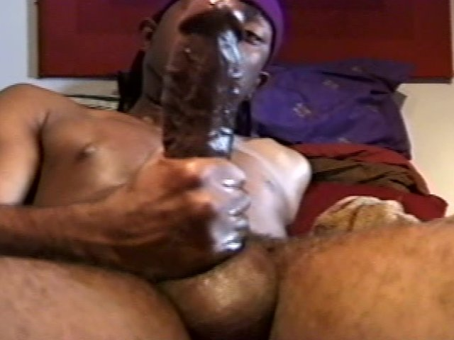Big black cocks jacking off