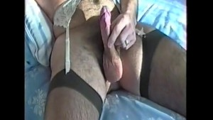Secret Nylon Wank Pt3