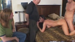 Wife Licking Huge and Juicy Cock
