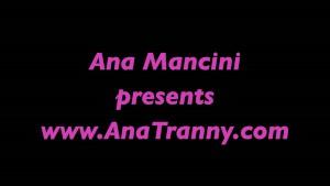Ana Mancini gets cum on
