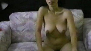 Asian masturbates and gets a hot facial