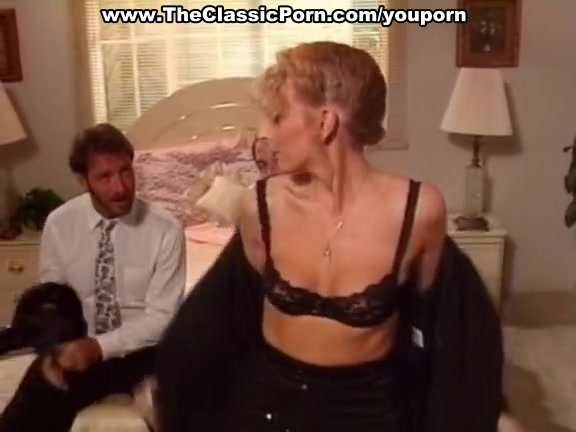 Classic porn with hot threesome