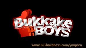 Wild Gay Bukkake Orgy!