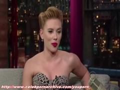 Picture Scarlett Johansson - Letterman