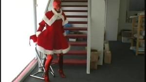 Christmas spandex wishes