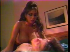 Brunette with monster tits gets boned - Gentlemens Video