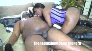Pornstar TIa Carter Pussy eating after fat man failed