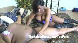Pornstar TIa Carter Pussy eating after fat man failed