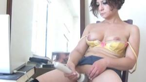 Anne solo webcam show