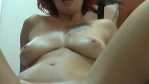 Fiery redhead mature Zharona sucks and fucks