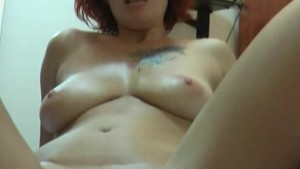Fiery redhead mature Zharona sucks and fucks