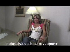 Des Moines Girl First Time Naked Part 1