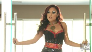 Hot Asian Pornstar Kaylani Lei is ass-fucked by big-dick in shower