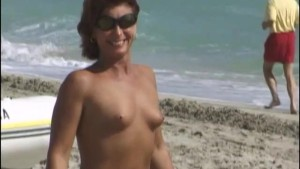 Naked Girls on South Beach Part 1