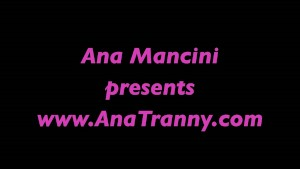 Ana Mancini teasing you.