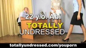 Asian girl gets totally undressed