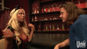 Big-Tit blonde Pornstar Bridgette B in nurse uniform fucked hard