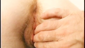 Wendy Gets Her Hairy Hole Fucked With Two Fingers