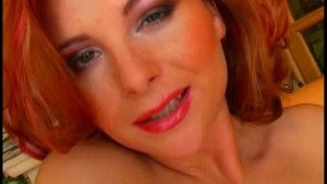 horny red head MILF