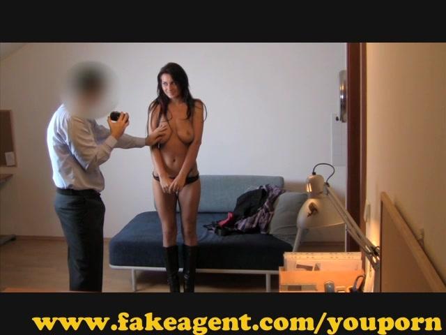 Порно кастинг в нижнем белье
