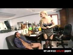 Picture Donna Bell gets fucked at the office by her...