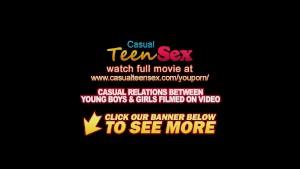 Casual teen sex race