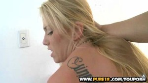 Teen cutie Chanel has her sweet pussy drilled in Innocent Fun