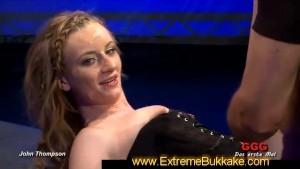 Blonde Annie sucks and rides cocks