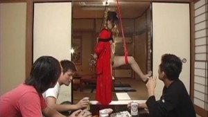 Uncensored Japanese Geisha Girl Bondage