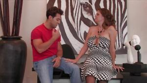Sexy big-tit redhead wife Raquel Devine cheats on her husband