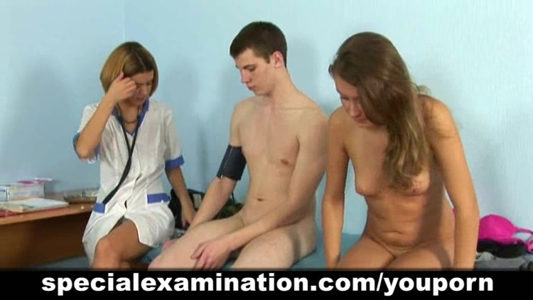 Special medical examination for young couple