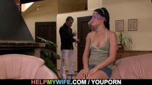 Hubby calls guy to fuck his wife
