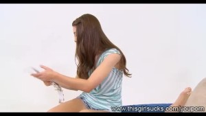 Hot Adorable Brunette Zarena Summers Jizz Lover