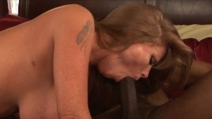 Hot MILF Darla Crane Fucks a Black Guy