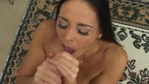 Busty Babe Giving Amazing Handjob!
