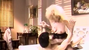 Classy doll seduced guy for fuck