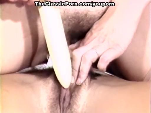 Tender woman touch for retro pussy