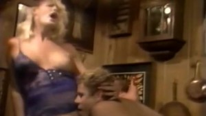 Retro cum produced for hot blonde