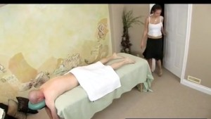Masseuse Sucks and Fucks Her Client