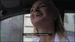 FakeAgent Horny blonde amateur!