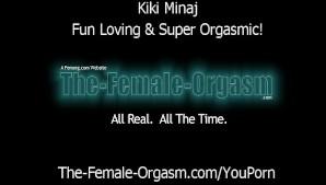 Kiki Minaj Masturbates Like Crazy