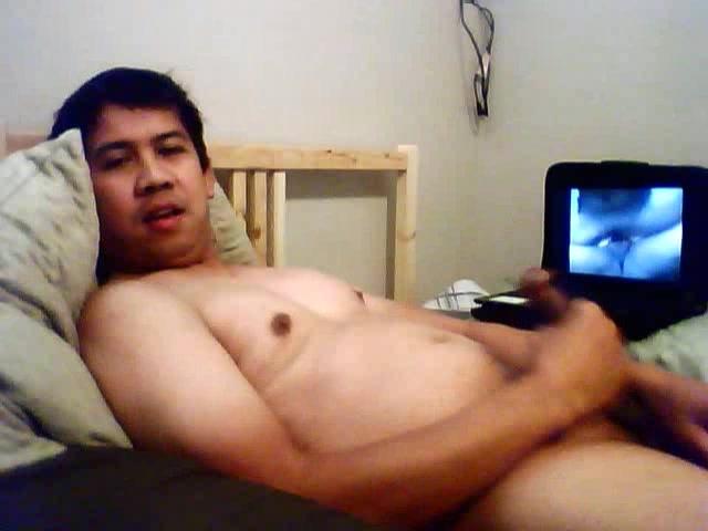 watching porn, guy jacking off