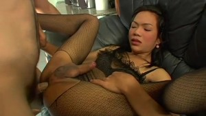 White Guy Fucks A Petite Asian Tranny - Bizarre