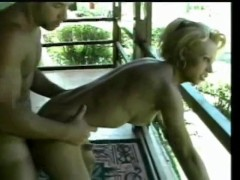 Picture Shemale and guy get off on the porch - Jet M...