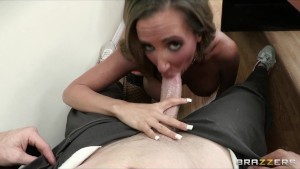Slutty school teacher Richelle Ryan fucks the school janitor