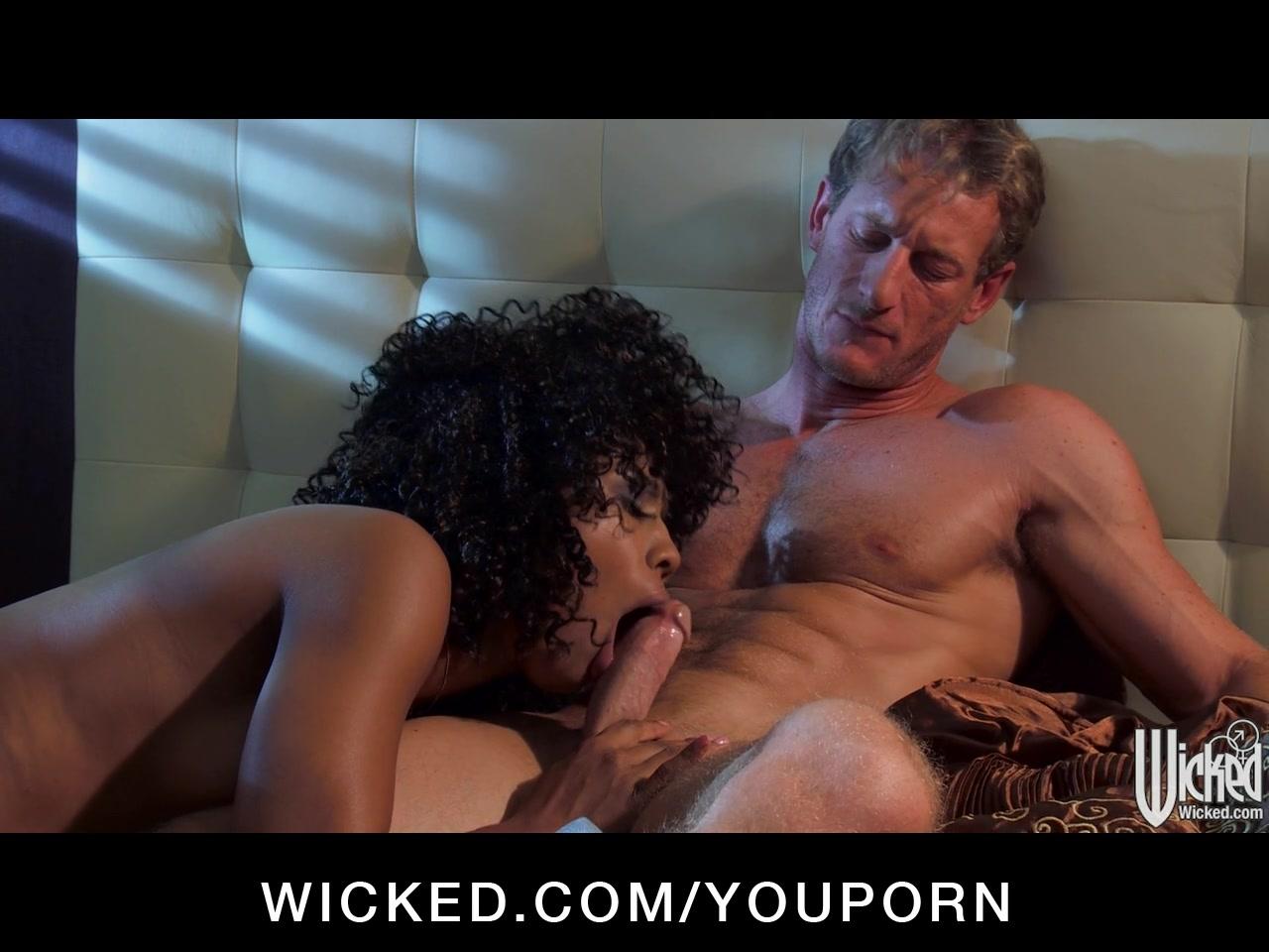 Sexy ebony mistress Misty Stone loves it fast & rough