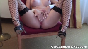 Hot Teacher shows student how to jerk-off. German Dirty Talk