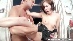 HarmonyVision Petite Girl Gets it Rough