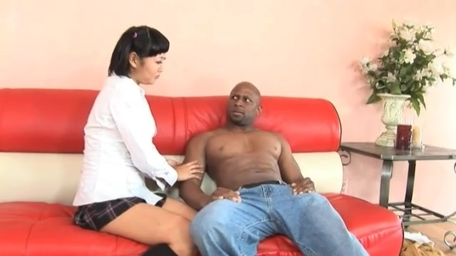 Getting her tight asian hole destroyed by bbc - Grindhouse